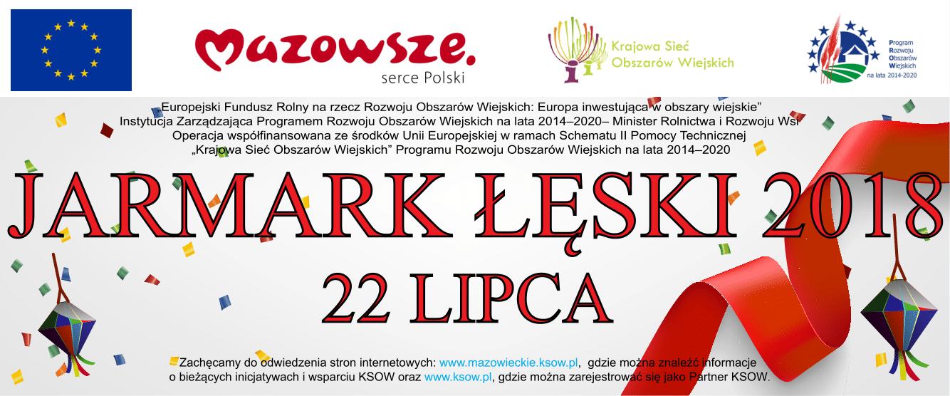Baner Jarmark Łęski 2018