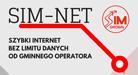 Logo SIM-NET Usługa szybkiego internetu